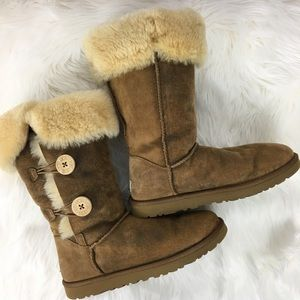 Ugg Bailey Button Tall Boot Size 9
